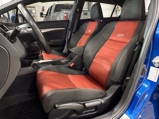 2014 Honda Civic Sedan Si 6 Speed Premium Cloth Seats Sunroof Rear Spoiler 18 Inch Aluminum Wheels Butler Pa Cranberry Twp Pittsburgh Wexford Pennsylvania 2hgfb6e56eh700542